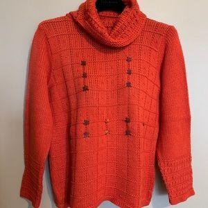 NWOT - Olsen women's cowl neck sweater (Size S)